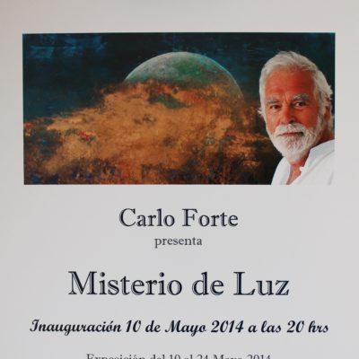 1) 2014 Exposición Misterio de Luz Santa Cruz
