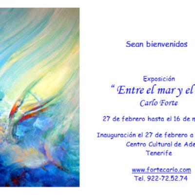 1) Exposición Entre el mar y el cielo