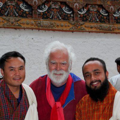 Carlo Forte - Pintor de Tenerife en Bhutan
