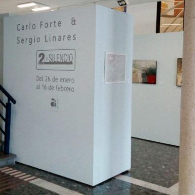 Exposición 2 en el Silencio Carlo Forte & Sergio Linares