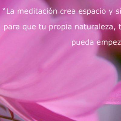 3) meditacion, silencio