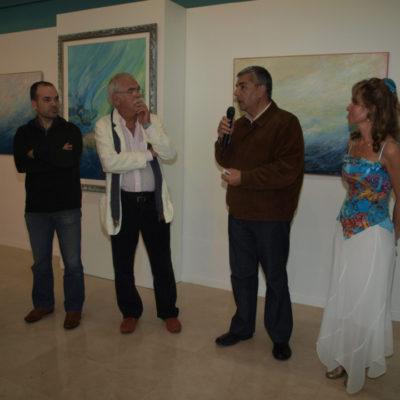 4) Exposición Entre el mar y el cielo
