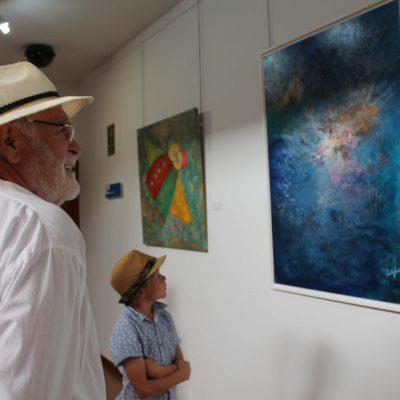 4) colectiva de pintura arona 2017