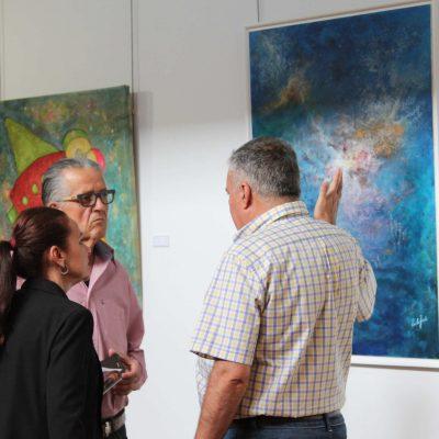 5) colectiva de pintura arona 2017