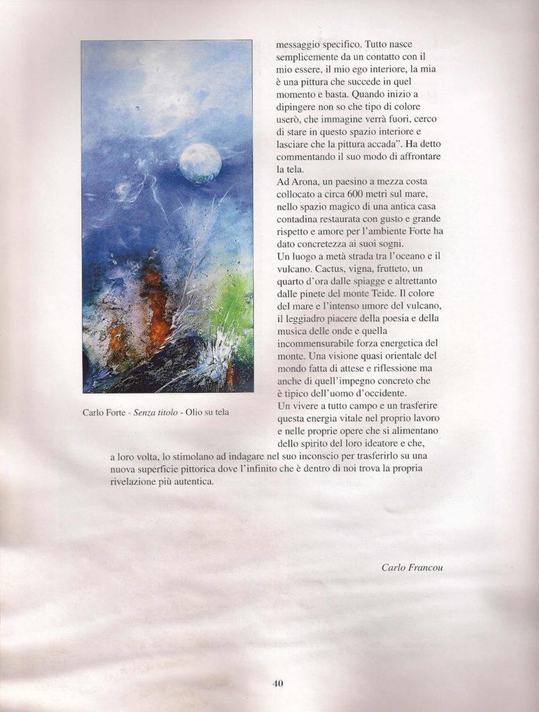 Carlo Forte - pittore di Tenerife