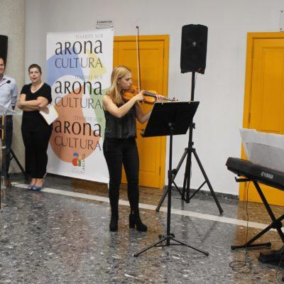 Inauguración Exposición - Escuela de Música y Danza - Violín & Piano - Carlo Forte