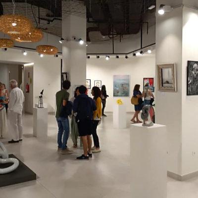 """Eventos – 2019 – Exposición colectiva : """"El Arte by Sábila"""""""