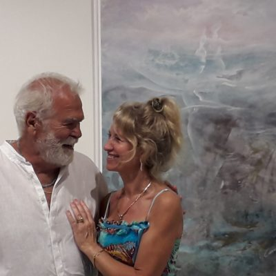 Carlo Forte - Cuadro 120 x 90 - pintura intuitiva